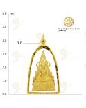 ชินราช รุ่น 640 หล่อใหญ่ ทอง จับขอบ