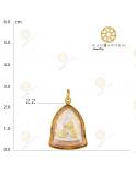 พระสิวลี เหรียญวัดไตรมิตร 3 สีจับขอบ