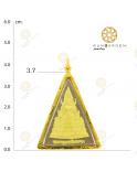 พระพุทธชินราช สธ.ปิดทอง รุ่นเฉลิมพระเกียรติจับขอบ