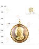 เหรียญกลม ร.9 ปี 2522 จับขอบ